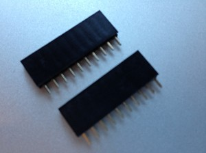 Set of 2 - 10 Pin Female Header