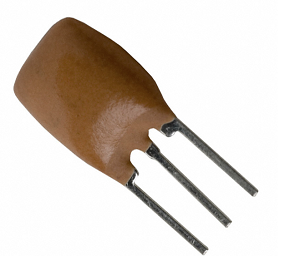 10 MHz Ceramic Resonator with built in Capacitors